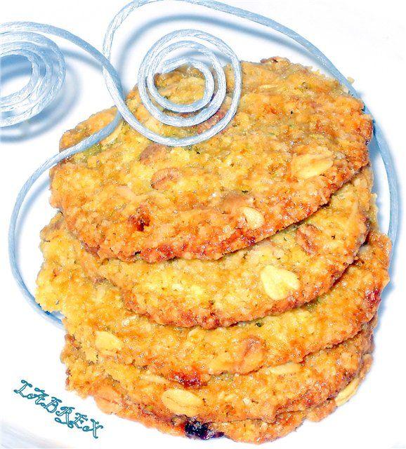 Овсяное печенье «Анзак»(+ постный вариант) : Выпечка сладкая