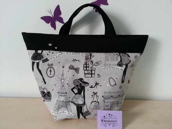 17 meilleures id es propos de sacs main en tissu sur pinterest sacs en patchwork sacs en. Black Bedroom Furniture Sets. Home Design Ideas