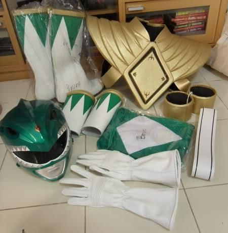 Green Ranger Costume