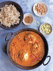Rezept von Alice Hart: Eiercurry - Valentinas-Kochbuch.de - kochen, essen, glücklich sein