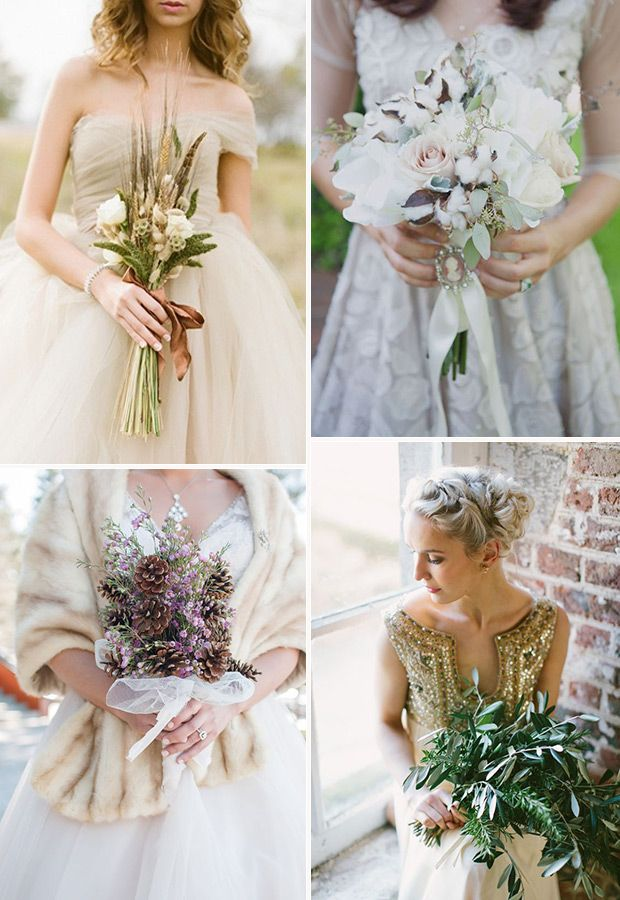 Alternative Wedding Bouquets Non Fl Bridal