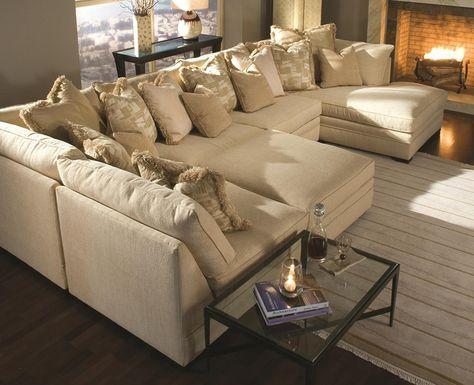 Die besten 25+ Extra large sectional sofas Ideen auf Pinterest - moderne wohnzimmer sofa