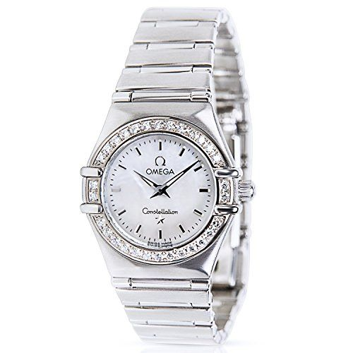 Omega Constellation Ladies Watch in Stainless Steel (Certified Pre-owned) 1466.71 *** More details can be found by clicking on the image.