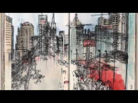 ARTE JOURNAL / LES CARNETTISTES TRIBULANTS CHINE - YouTube