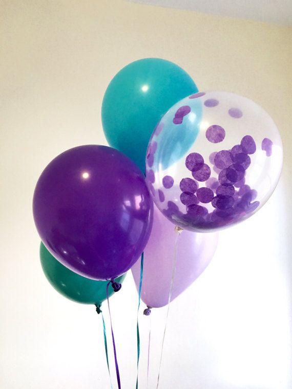 Resultado de imagem para mermaid balloons