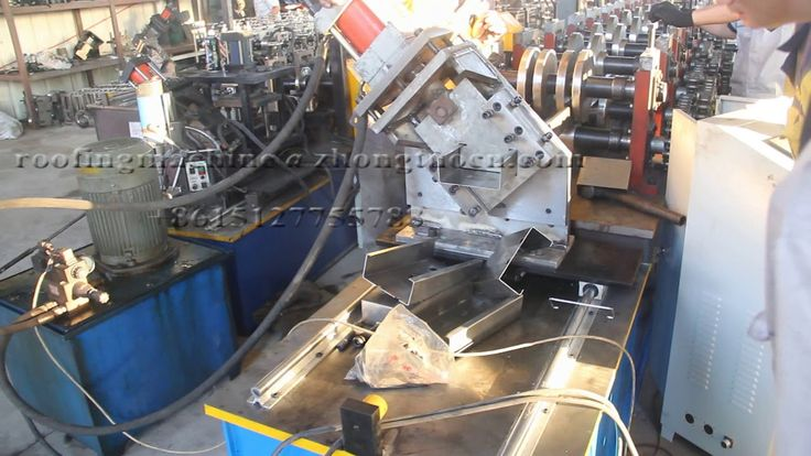 Australia C channel rolling forming machine from C80 to C100 with punching