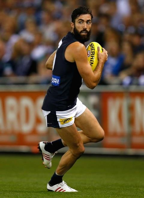 Kade Simpson Carlton 'fear the beard'