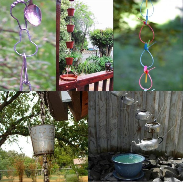 Rain chain ideas 20 best DIY Rain