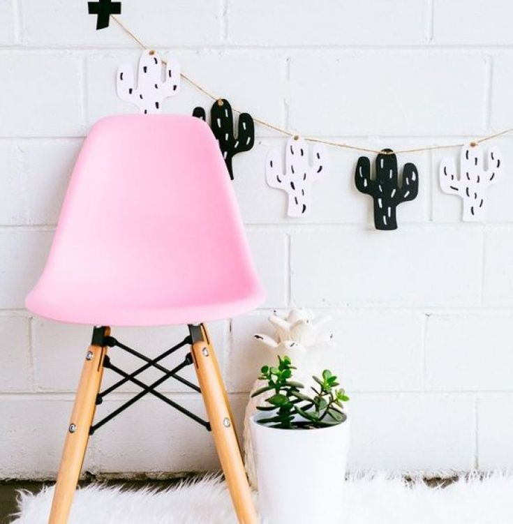 Mommo design cactus decor kids furniture and details for Furniture decoration paper