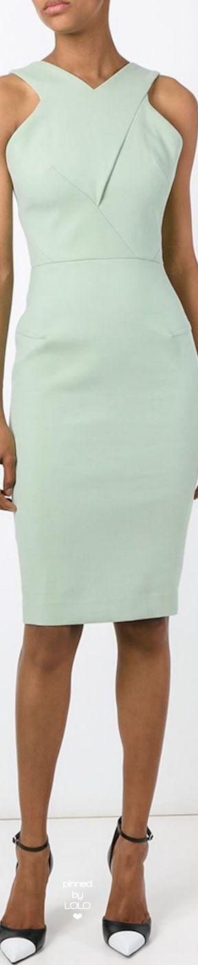 Roland Mouret 'Wilton' Dress | LOLO❤︎. #dresses #RolandMouret