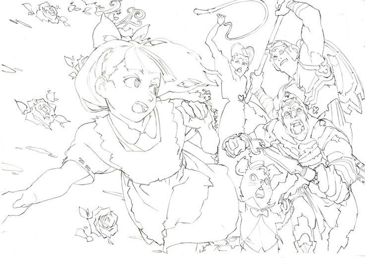 Artwork by Tatsuro Kawano. The winner of 2nd Annual Rookie Animator Award.