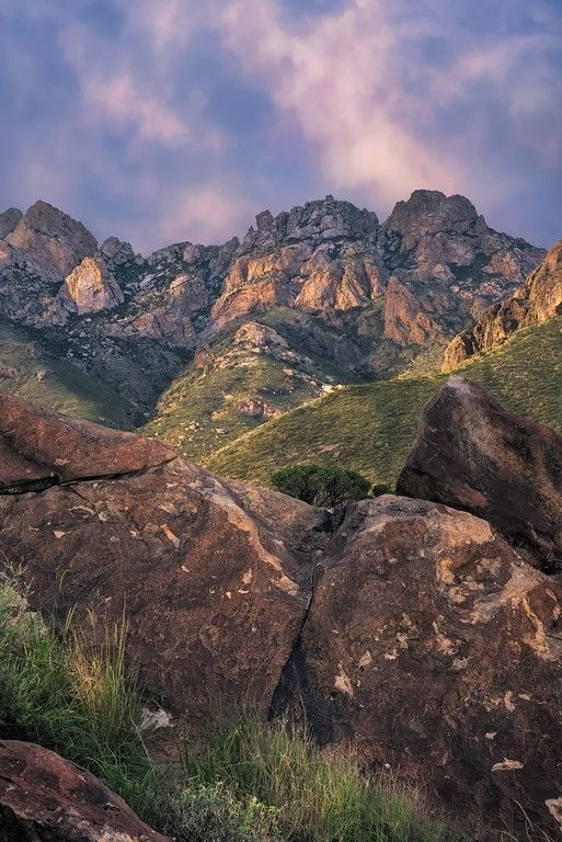Organ Mountains, Las Cruces, New Mexico.  Wayne Suggs.