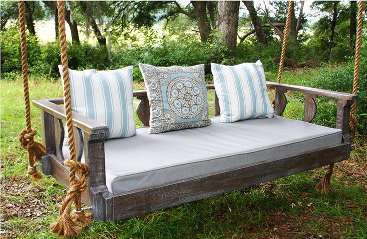 canap et lit suspendu pour d coration de terrasse et jardin jardins et terrasses pinterest. Black Bedroom Furniture Sets. Home Design Ideas