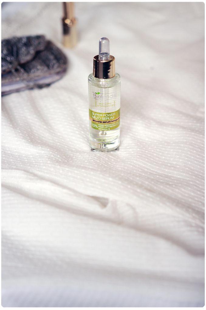 Alina Rose Makeup Blog: Bielenda serum z kwasem migdałowym- Super Power Mezo Serum.
