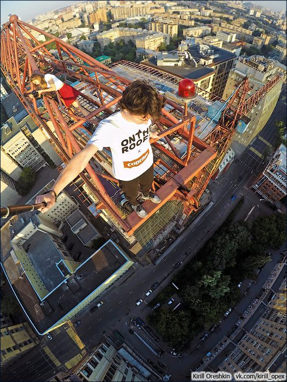 Best Extreme Images On Pinterest Traveling Boats And Dog - Daredevil films extreme parkour on top of skyscraper