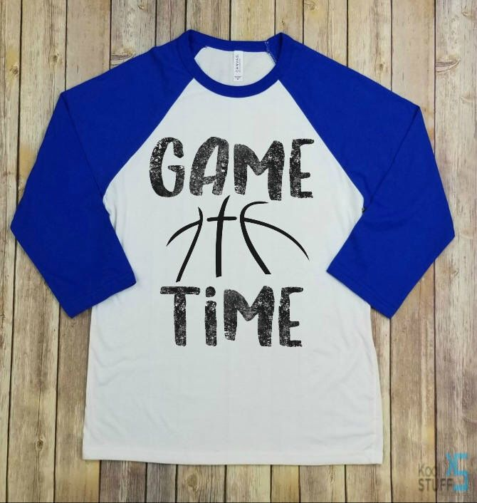 game time, basketball shirt, basketball mom shirt, basketball mom, proud basketball mom, school spirit, college basketball, game day shirt by KoolstuffdesignsCo on Etsy https://www.etsy.com/listing/559450951/game-time-basketball-shirt-basketball