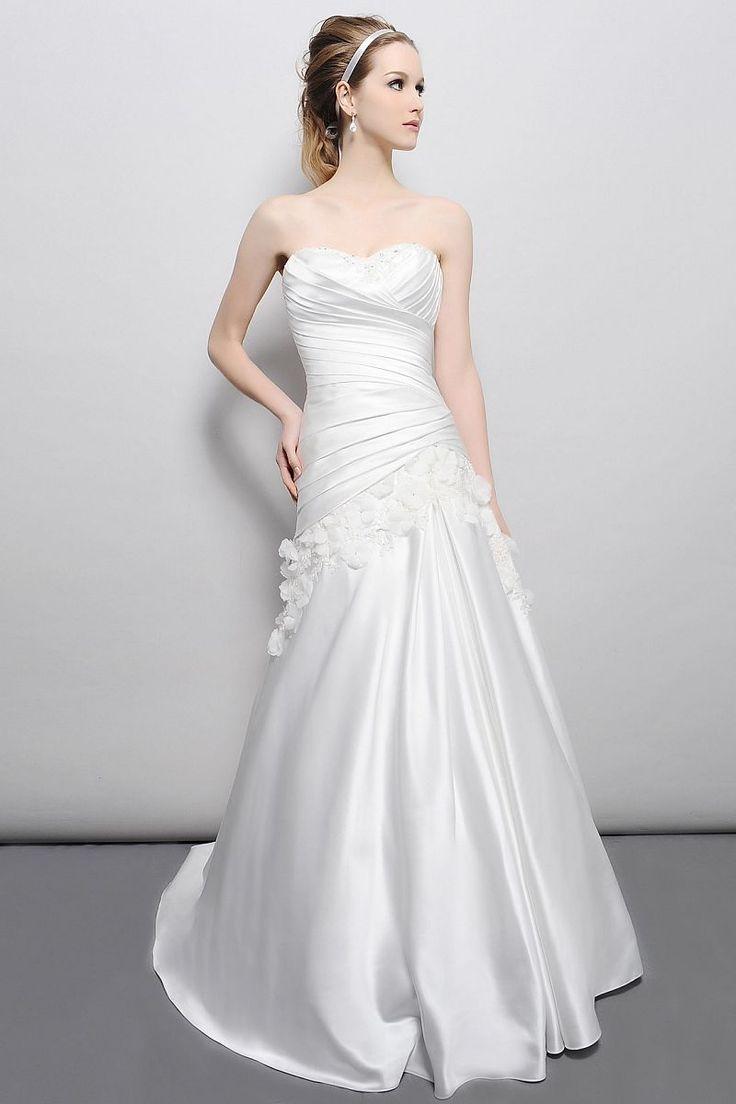 33 best Simple Wedding Dresses images on Pinterest | Wedding ...