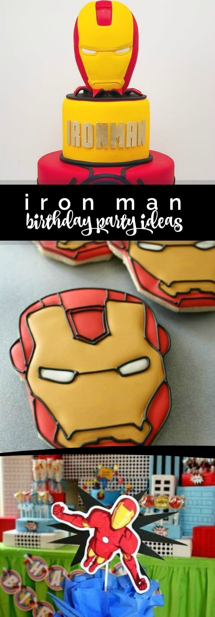 Gallery Of Iron Man Party Ideas With Birthday Decorations
