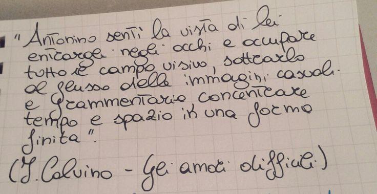 Italo Calvino - Gli amori difficili