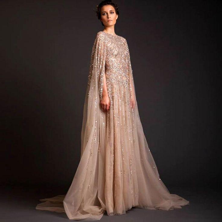 Lebanon Custom Women Prom Crystal Saudi Arabia Long Arab Evening Dresses 2016 Sleeved Abaya Dress Dubai Kaftan Marocain Aramex Evening Gown Evening Gowns Online Long Evening Gowns From Aijiayi, $180.0  Dhgate.Com