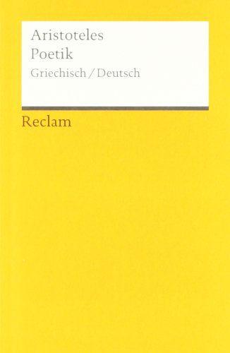 Poetik: Griech. /Dt.: Amazon.de: Manfred Fuhrmann, Aristoteles: Bücher
