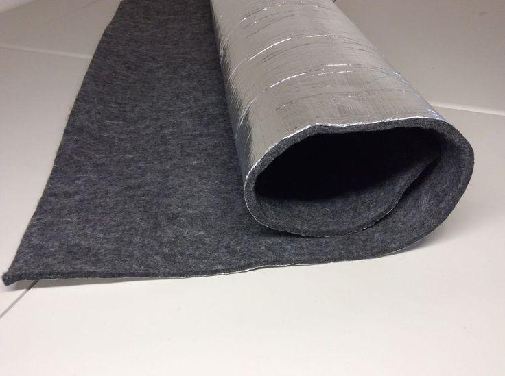 Heat and Sound Insulation Aluminum Foil Backed Thermozite Carpet Padding | eBay