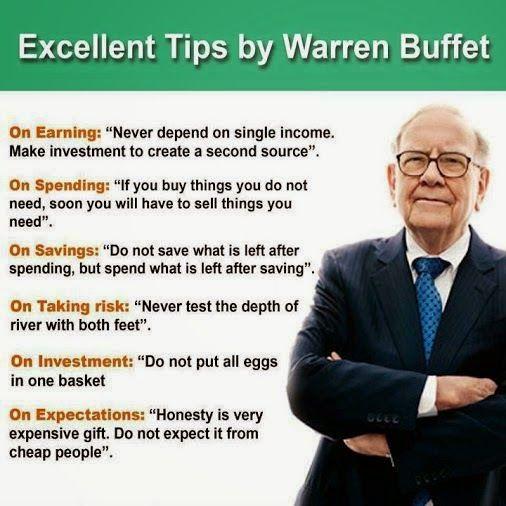 Exellent Tips From Warren Buffet