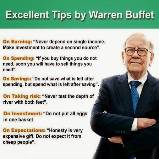 Exellent Tips From Warren Buffet