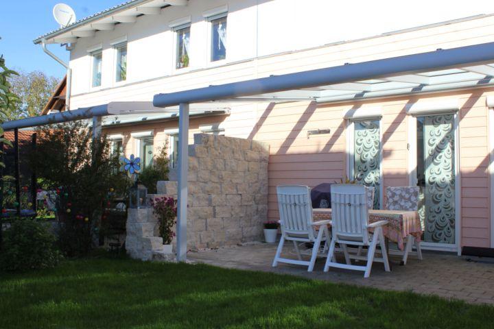 Terrassenüberdachung - Novum-Wintergartende Terrasse - auswahl materialien terrassenuberdachung