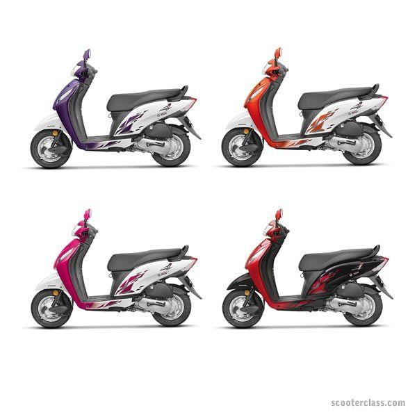 Honda Activa I Scooty Colours Colors Image Honda Scooters Honda