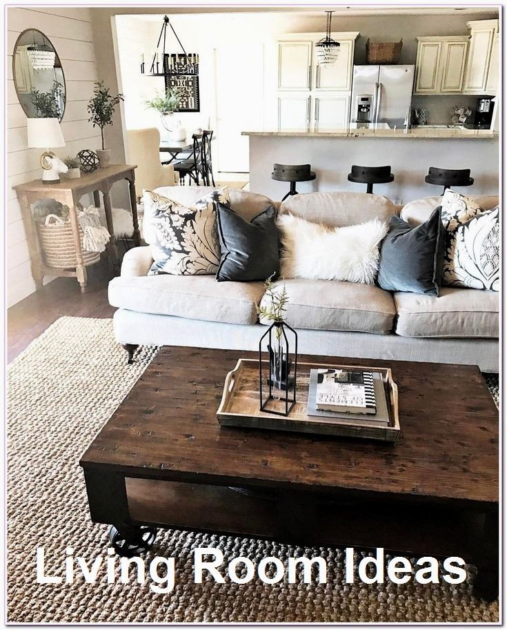 Cozy Living Room Decor For Small Modern Boho Or Rustic Living Rooms Farmhouse Living Room Furniture Farmhouse Decor Living Room Living Room Decor Rustic