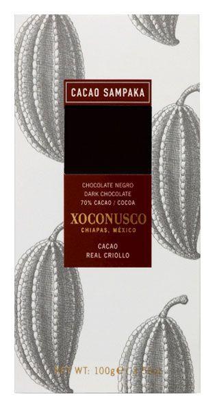 C Sampaka 100g. Ciocolata neagra cu cacao Xoconusco