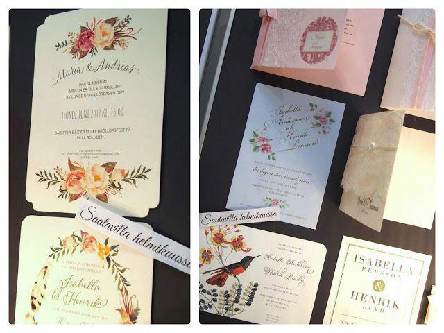 Belle Époque Wedding Diary: Kauniita hääkutsukortteja, photobooth ja unelmahää...