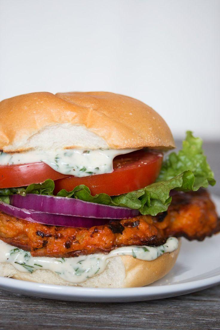 Buffalo Ranch Cauliflower Sandwich