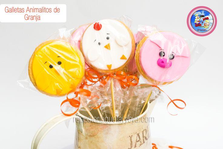 Galletas granja - Farm cookies