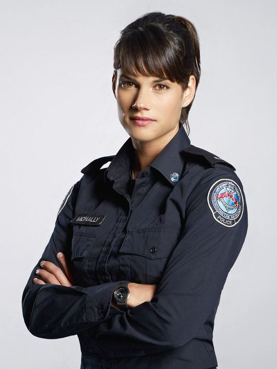 Rookie Blue (TV show) Missy Peregrym as Andy McNally