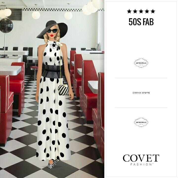 Covet Fashion Game Look 50s Fab Covet Fashion Game