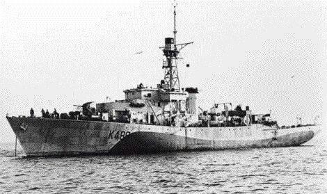 HMCS HESPELER K489