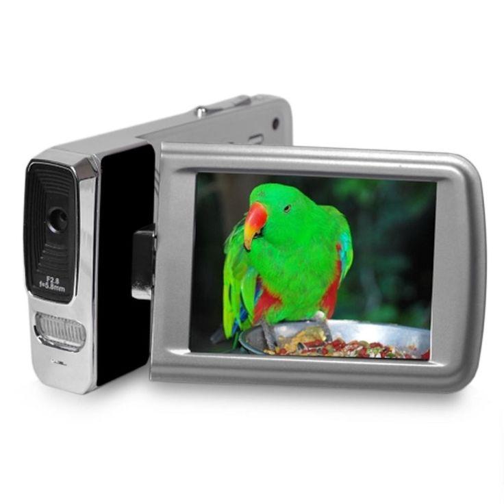 Polaroid ID1440-BLK 14MP-4x Digital Zoom Full HD 1080p Camcorder w-2.7 Touchscreen Display (Black)