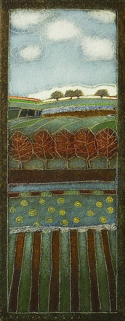 2012-011 50x20cm-  Landscape by Rob van Hoek