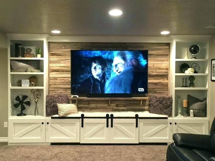 Built In Wall Unit Ideas Entertainment