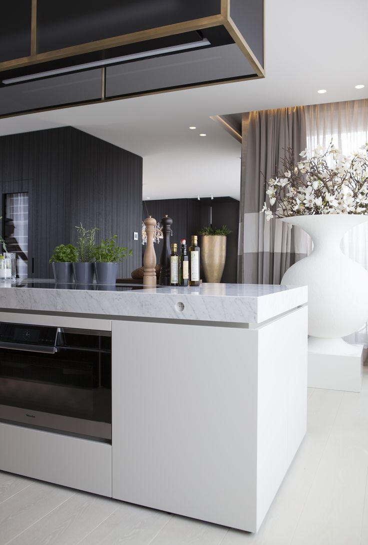 Byron & Jones Interiors - Marble - Kitchen - Decoration -