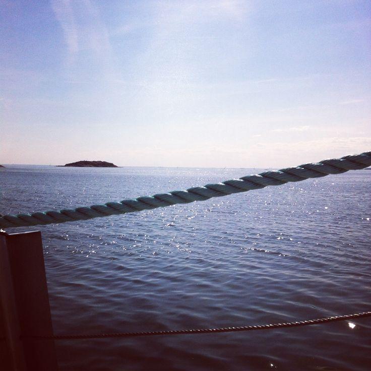 A boat trip, oxelösunds arkipelag.