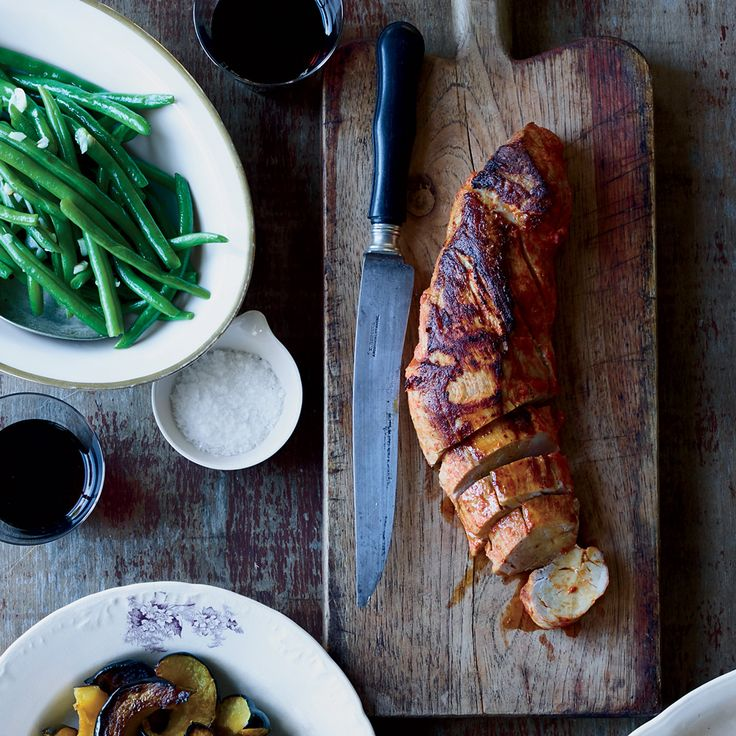 Skillet Pork Tenderloin with Mustard and Smoked Paprika | Food & Wine