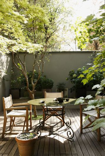 54 best Terrasse images on Pinterest Landscaping, Backyard patio