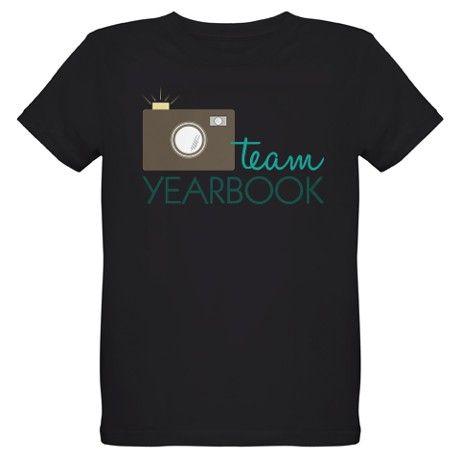Team Yearbook Organic Kids T-Shirt (dark)