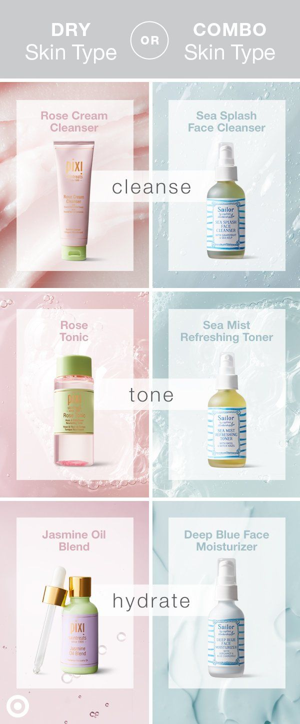 Skin Care Needs Change With The Seasons Here Are Spring Regimens For Dry Combination Skin Types Combination Skin Type Simple Skincare Skin Care