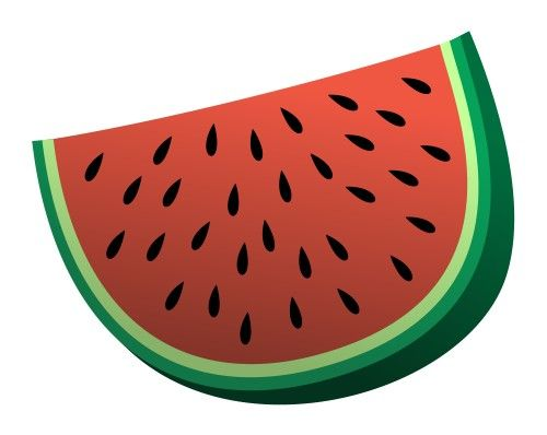 Colorful cartoon watermelon is featured in this fun drawing lesson!