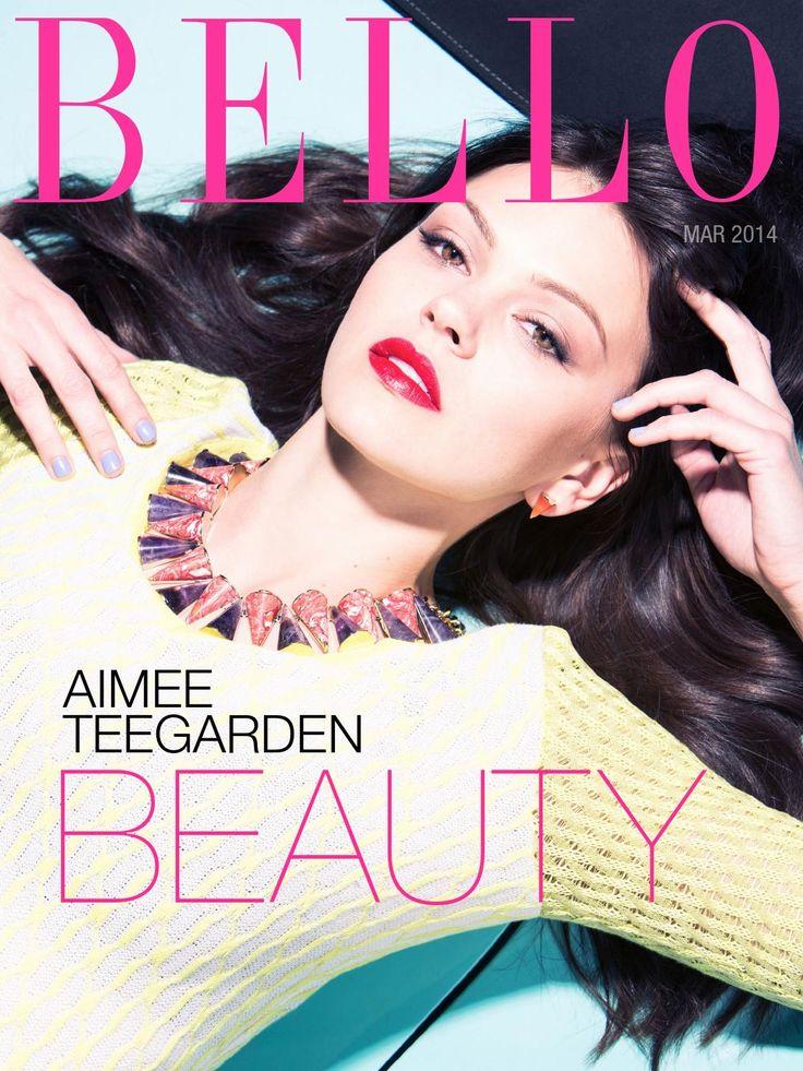 Aimee Teegarden – Bello Magazine (March 2014)