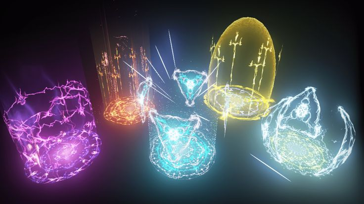 KY Magic Chant FX by Kakky in FX - UE4 Marketplace (Complex Material, Inspiration, 26/02/2016)